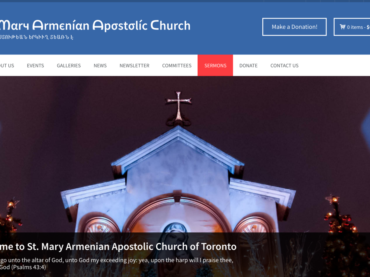 St. Mary Armenian Apostolic Church