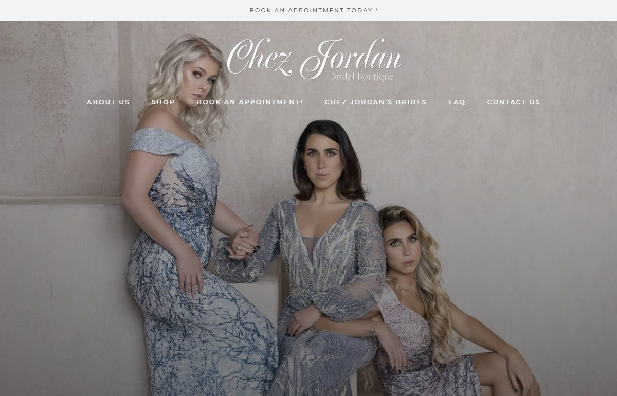 Chez Jordan, Woodbridge Bridal Boutique